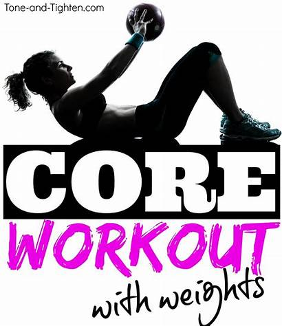 Weights Core Workout Ab Tighten Tone Weight