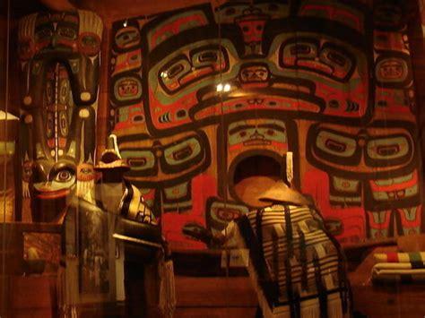tlingit potlatch exhibit photo