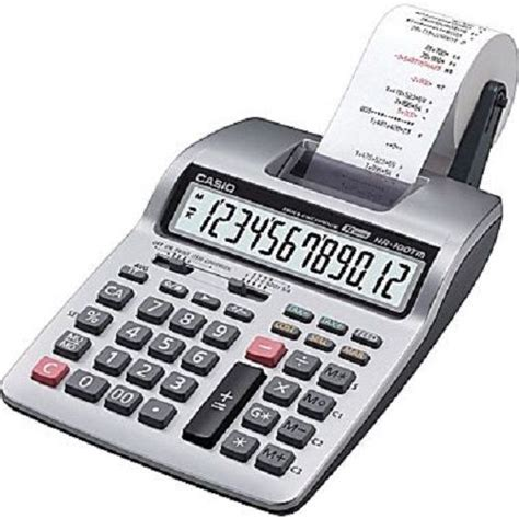 Casio Desk Calculator by Casio 174 Hr 100tmplus Desk Top Printing Calculator