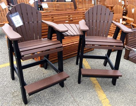 Chairs For Balcony by Poly Adirondack Balcony Chair Settee Amish Traditions Wv