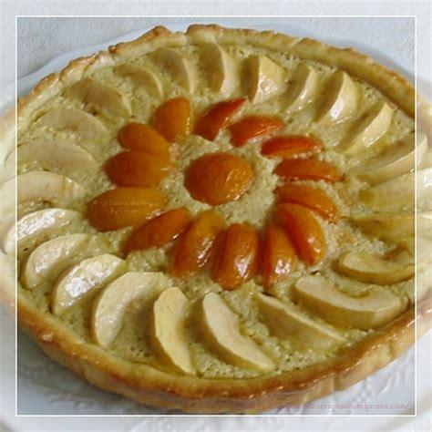 cuisine des anges tarte aux abricots amandes et pommes la cuisine des anges