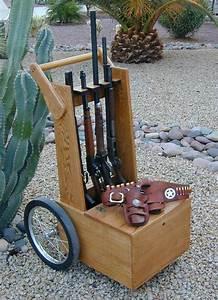 Gun Cart Plans More Easy Woodworking Ideas Pinterest