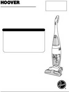 hoover vacuum cleaner hard floor cleaner user guide