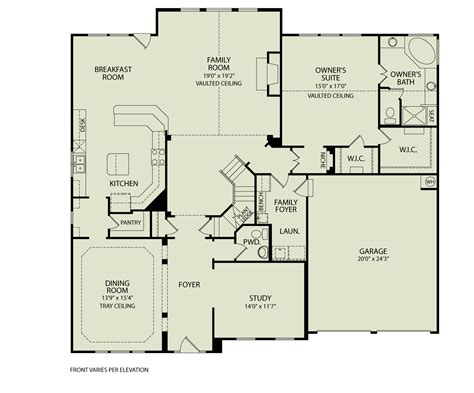 Drees Homes Floor Plans by Yardley 142 Drees Homes Interactive Floor Plans