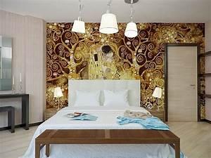 tendance papier peint chambre adulte 2015 chambre With papiers peints chambre adulte