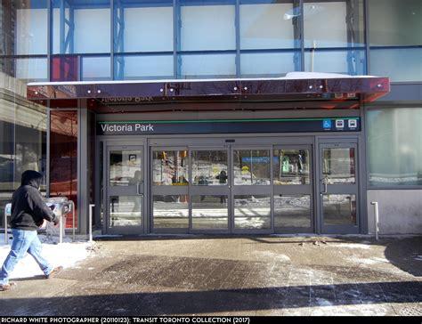 victoria park transit toronto subway station