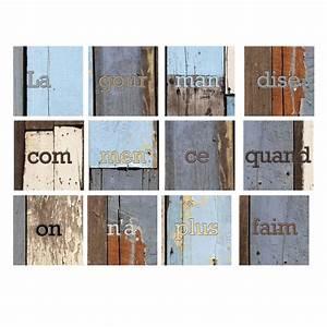 Stickers Carreaux Cuisine : stickers carrelages pour cuisine citation sur la gourmandise daudet ~ Preciouscoupons.com Idées de Décoration