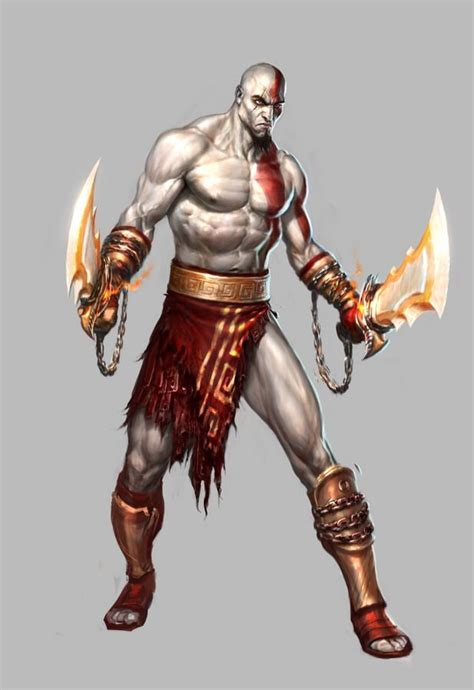 Kratos Concept By Charlie Wen Characters God Of War