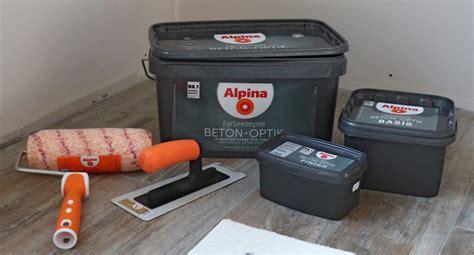 Alpina Beton Optik by Alpina Beton Optik Streichen So Wird Es Richtig Gut