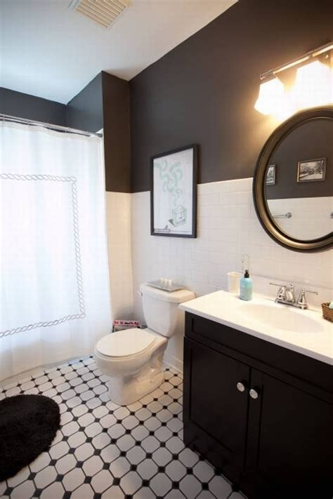 black and white bathroom ideas pictures 30 small black and white bathroom tiles ideas and pictures