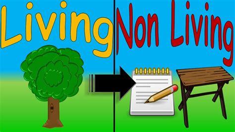 Living And Non Living Things For Kids Cosas Vivas Y No Vivas En Inglés Niños Fiestikids Youtube