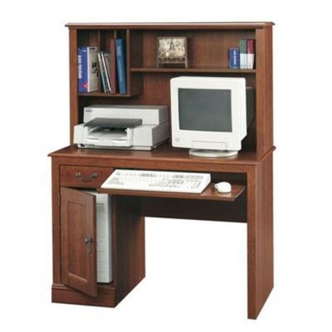 sauder camden county computer desk with hutch sauder camden county computer desk with hutch by sauder at