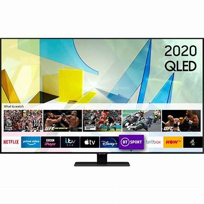 Samsung Q80t Inch Qled 4k Freesat Freeview