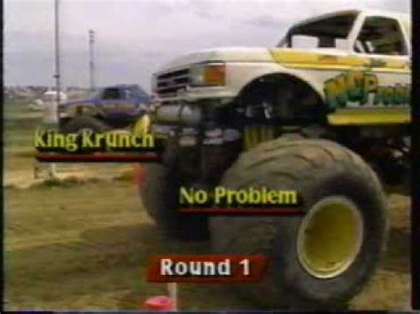 monster truck show memphis 1991 penda monster trucks memphis tn show 2 part 2