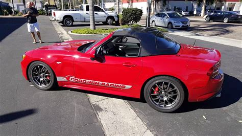 Fiat Spider Hardtop by Fiat 124 Spider Abarth Hardtop Auto Today