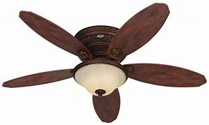 Quot bronze brown ceiling fan avignon hunter