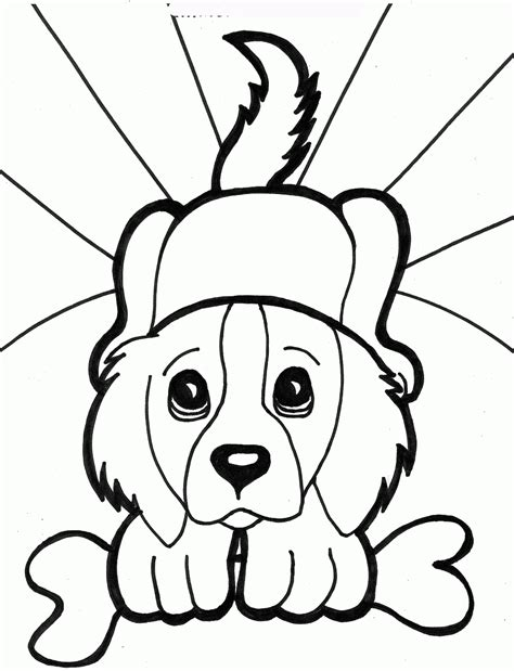 printable dogs coloring pages  kids