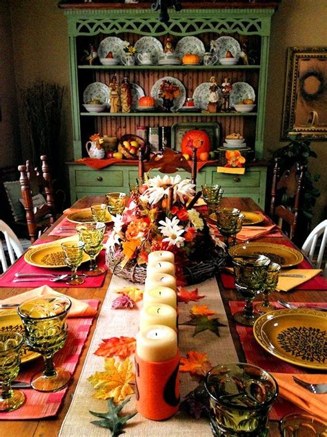 amazing ideas   thanksgiving table setting sortrachen