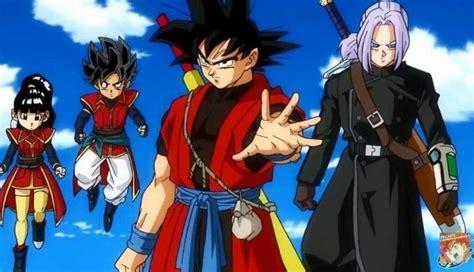 Anime Dragon Ball Dragon Ball Regresa Con Nuevo Anime Basado En Juego