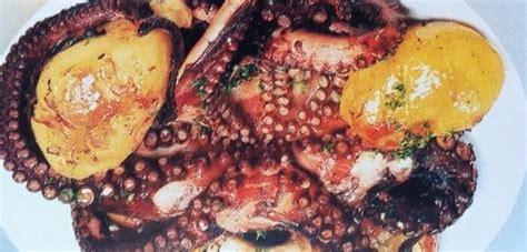 cuisiner les poulpes recette croate de poulpe rôti aux pommes de terre