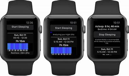 Sleep Apple Tracking Night Track Iwatch App