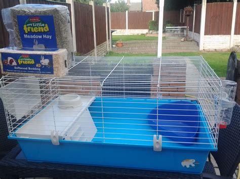 Ferplast 100 Large Indoor Rabbit Cage Hutch