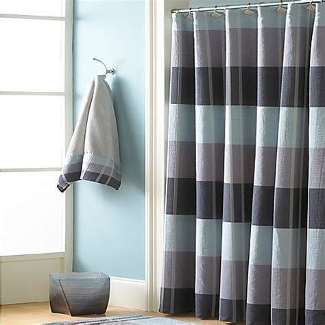 croscill shower curtain croscill 174 fairfax shower curtain in slate bed bath beyond