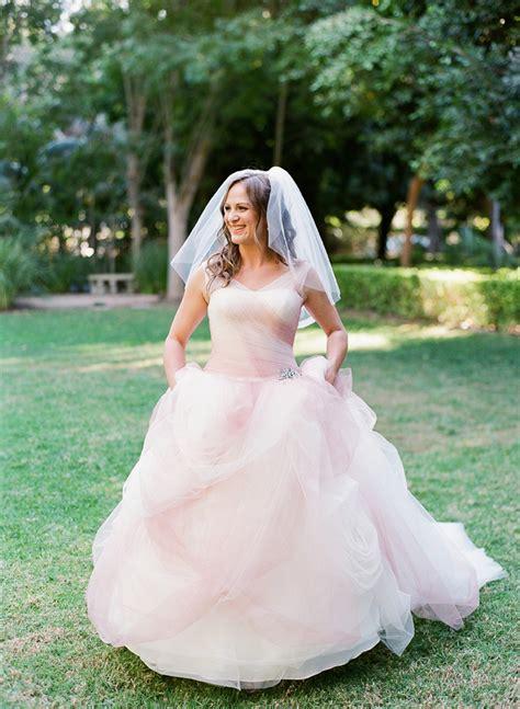 blush vera wang wedding dress elizabeth anne designs