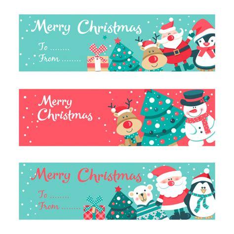 Merry christmas invitation card Vector Premium Download