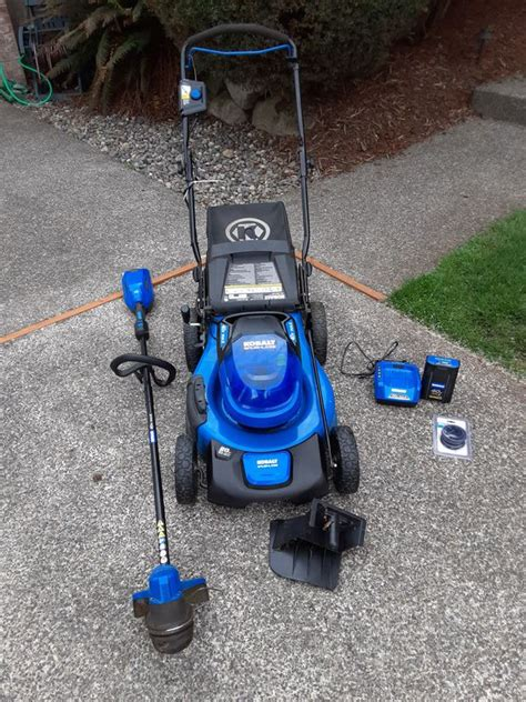 Taking the head unit apart was quite simple. Kobalt 40V mower and weed wacker for Sale in Federal Way, WA - OfferUp