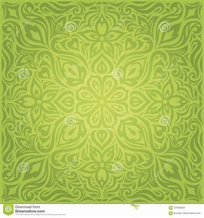 Backround Ornate Easter Decorative Floral Repeatable Pattern
