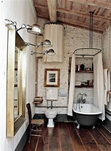 Petite Baignoire Retro : 40 photos d 39 int rieur de la baignoire ancienne salle de ~ Edinachiropracticcenter.com Idées de Décoration