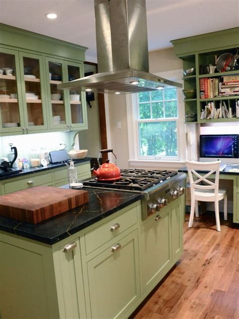 images  green kitchen cabinets  pinterest
