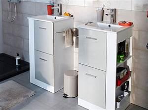 Petit Rangement Salle De Bain : petit meuble salle de bains notre s lection elle ~ Dailycaller-alerts.com Idées de Décoration