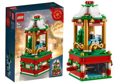 lego  christmas carousel les visuels officiels