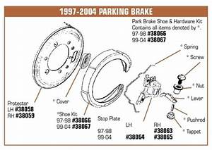Corvette Parts C5 1997 2004 Parking Brake