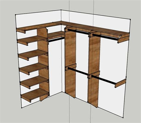 build closet organizer hubby do list
