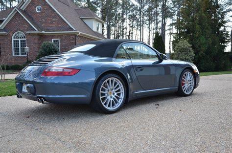 porsche custom paint 2007 porsche 911 c4s cabriolet sale pending 7 700 miles