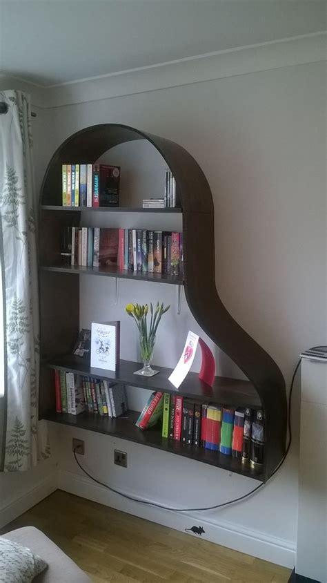 images  piano bookcase  pinterest shelves