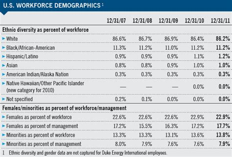 Workforce Performance Metrics — Duke Energy 2011 | 2012 ...