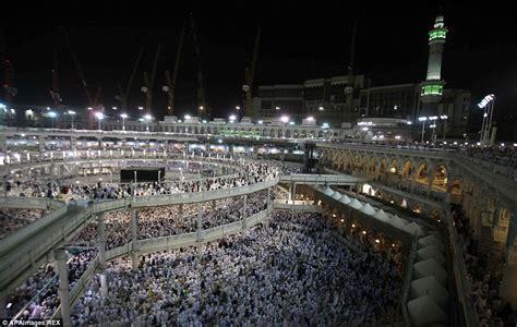 amazing   hajj begins