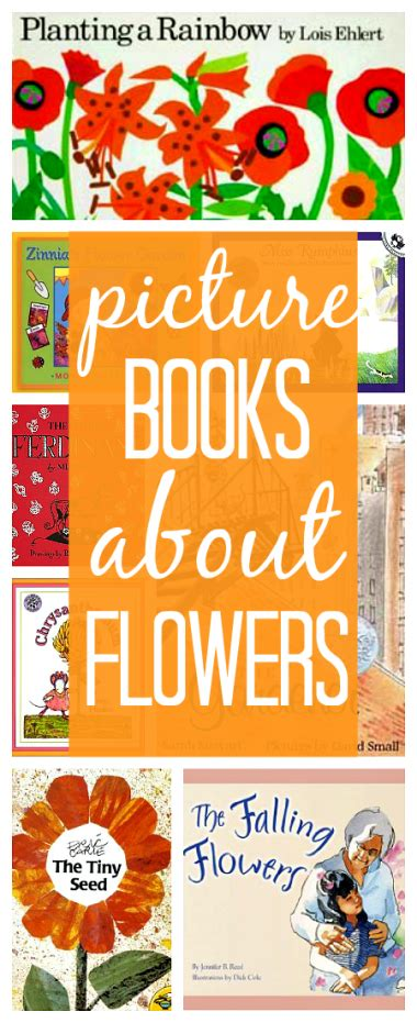 11 books about flowers themed activities amp treats 515 | 2903cbaa182c254a2567d7cd1f143871