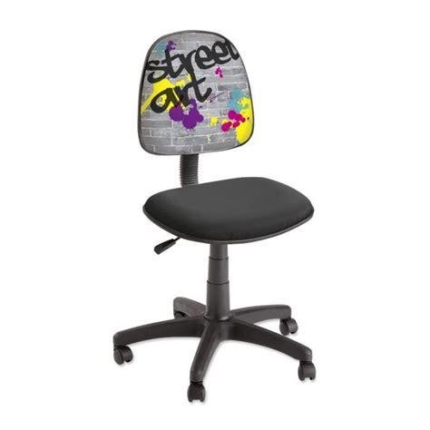 chaise de bureau enfants chaise de bureau enfant imprimée quot
