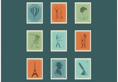 Stamp Postage Vectors Graphics
