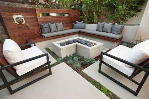 am 233 nagement petit jardin dans l arri 232 re cour id 233 es modernes