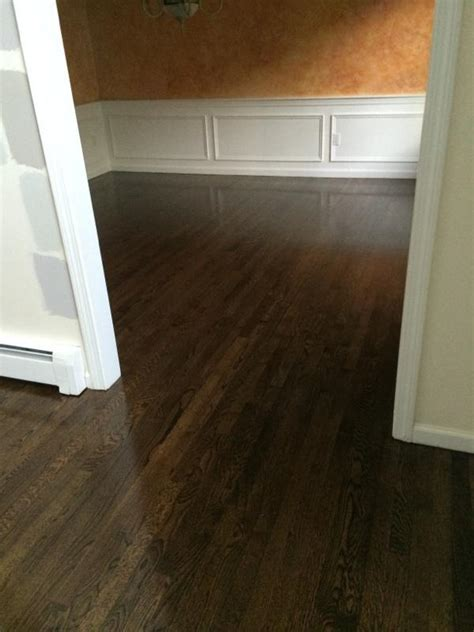 Refinishing Red Oak Hardwood Floors in Marlboro, MA