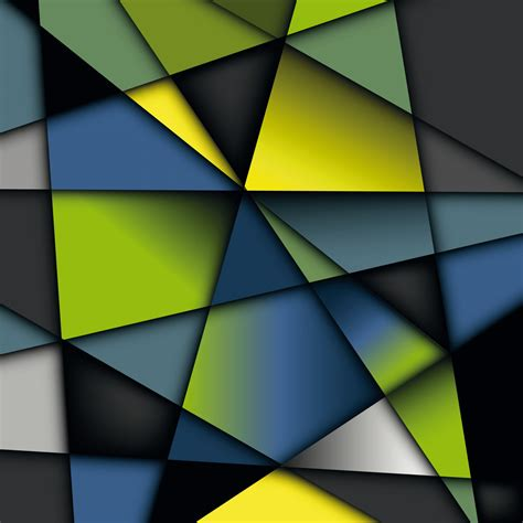Abstract Shapes Background Hd by Colorful Geometry Shapes Vector Background Hd Wallpaper