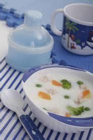 Tambahkan irisan daun bawang dan seledri. Menu Sehat Balita: Resep Bubur Bayi Nasi Putih