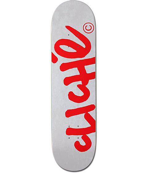 Are Cliche Skateboard Decks by Cliche Handwritten 8 1 Quot Skateboard Deck Zumiez
