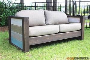 5 DIY Outdoor Sofas to Build for your Deck or Patio - The